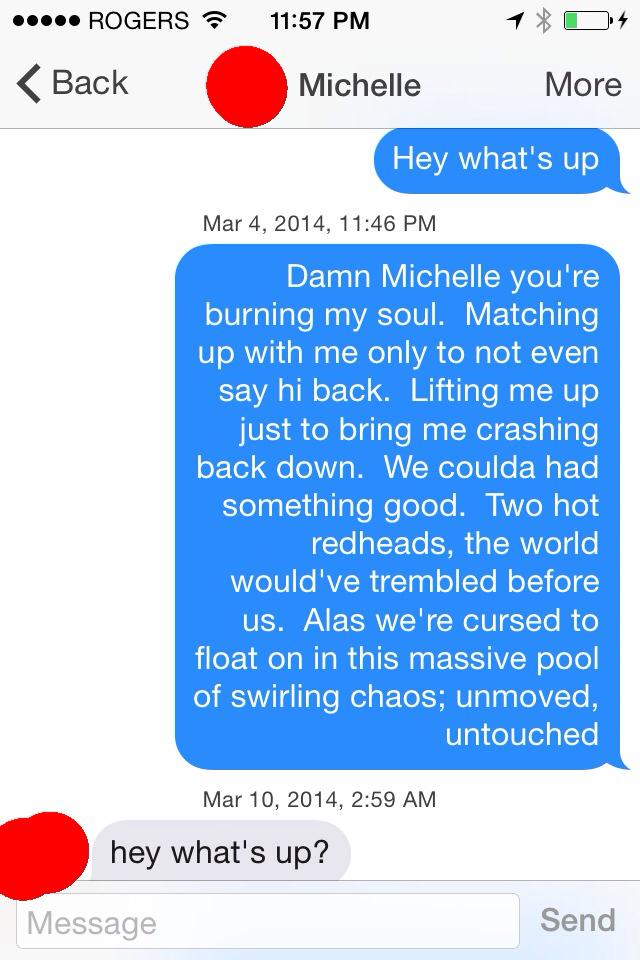 Best First Message On Tinder. The 7 Best Tinder Opening