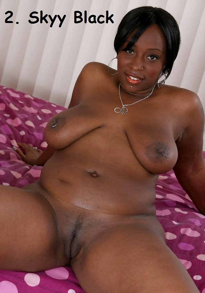Black female stars nude